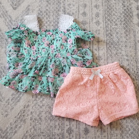 Little Lass baby girl 24 month outfit